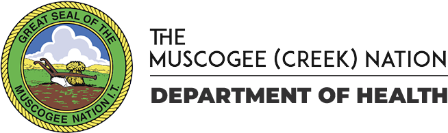 Muscogee (Creek) Nation Department of Health Logo